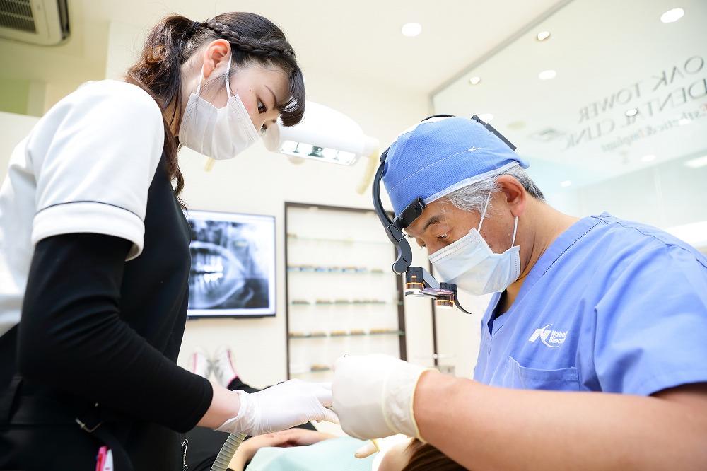 歯並びだけでなく口腔内全体のケアが可能